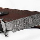Damascus Marine Recon Fighter Bolo Bowie Knife