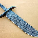 Damascus Exact Hunting Point Knife