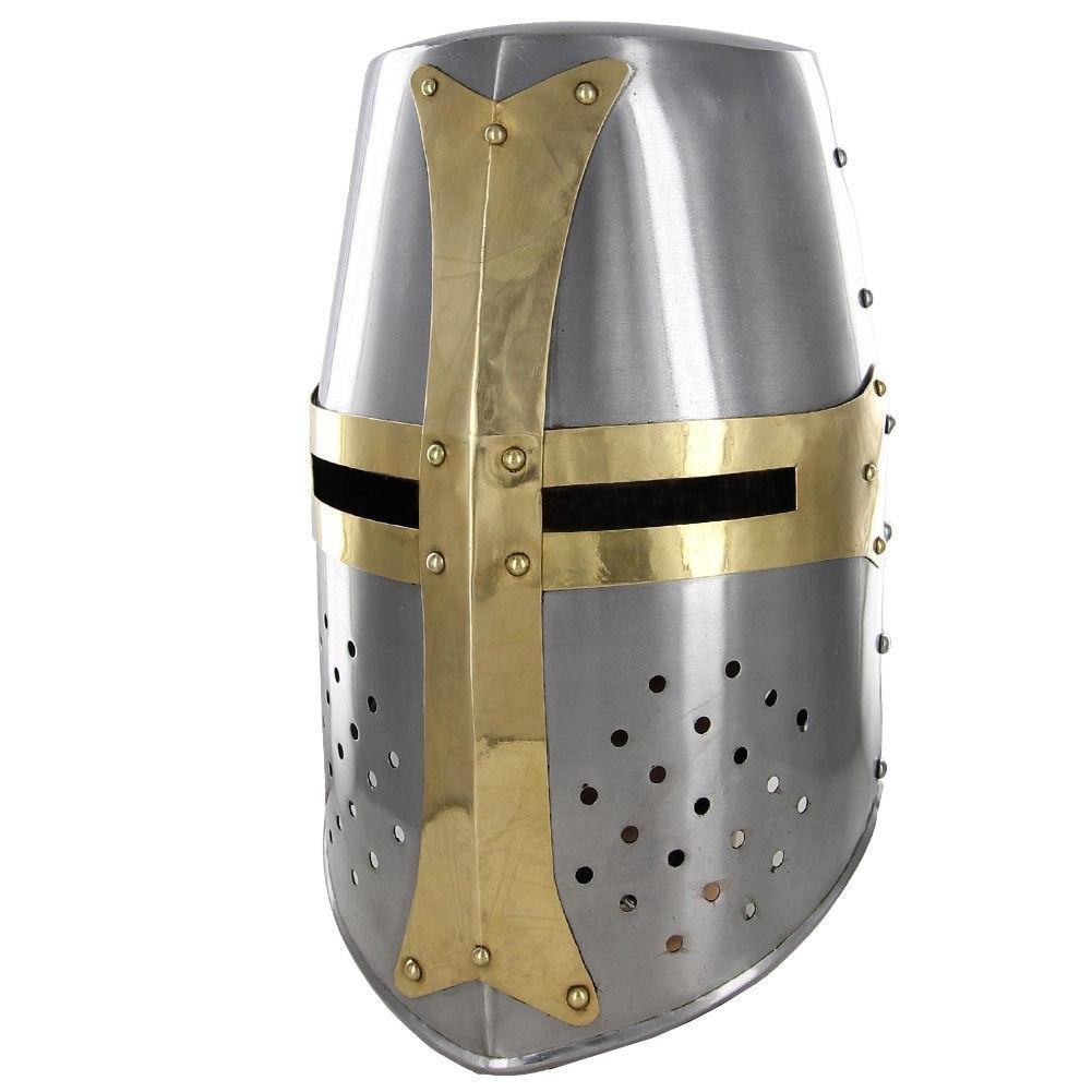 Mighty Great Brass 20g Helm Knights Helmet