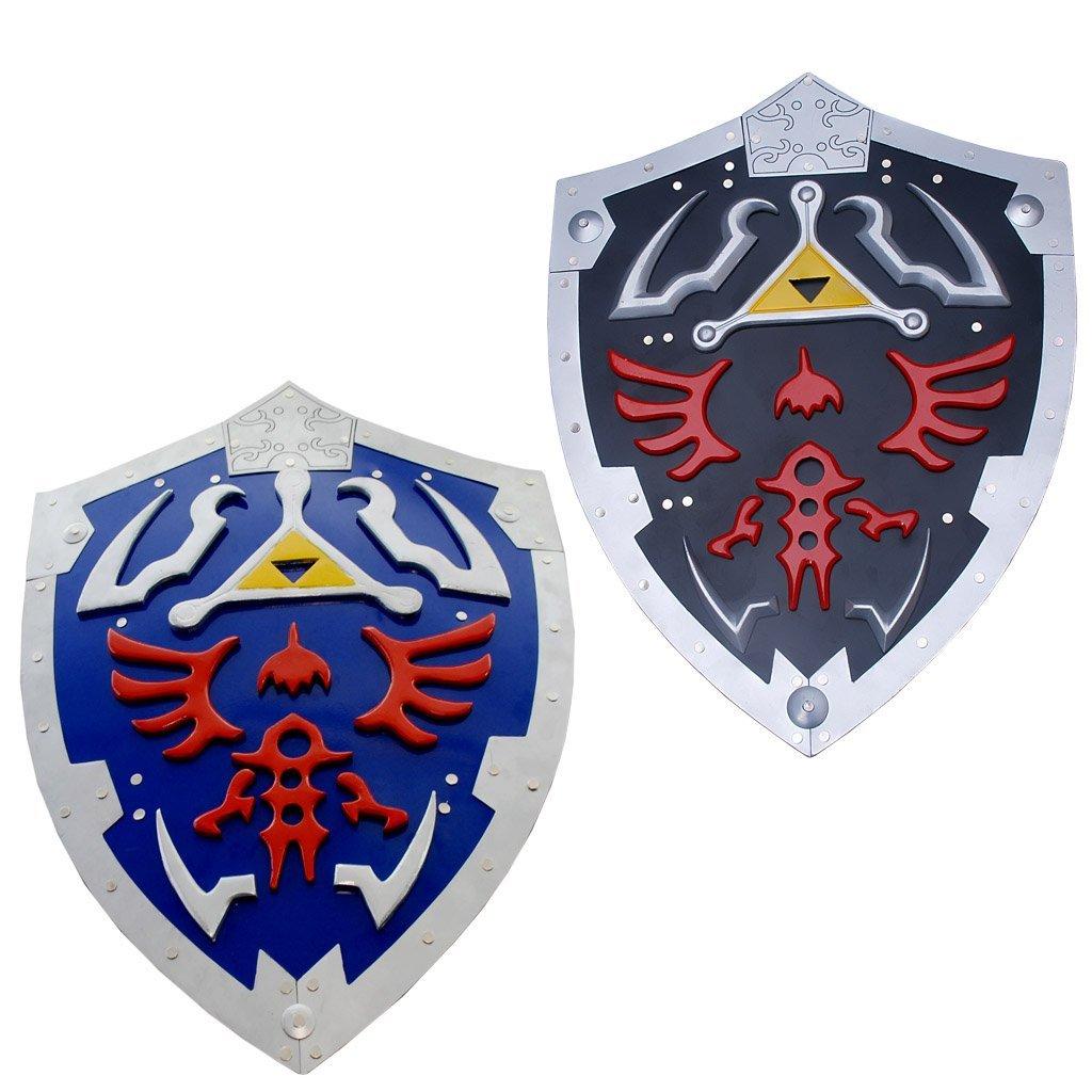 Hylian Shield of Link and Link Dark Hylian Shield