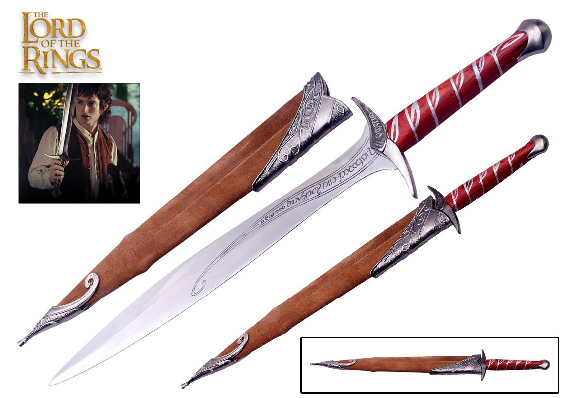 The Lord of the Rings Sting Sword of Frodo Baggins + Scabbard