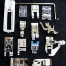 Set of 14 Janome Sewing Machine SNAP-ON Presser Feet