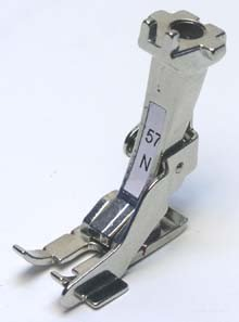 """1/4"""" Quilting Foot 57N for Bernina w/ Edge Guide NEW"""
