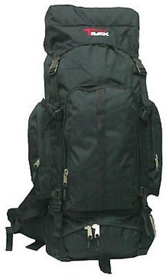 NAVY Extra Large Backpack Camping 4800 Cu In BIG Free Shipping Hiking Internal Frame