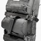 Tactical Convertible 3 in 1 Backpack Duffle Bag Messenger Black Pack Molly New