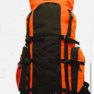 ORANGE Extra Large Backpack Camping 4300 CI  Hiking Pack Hunting Internal Frame