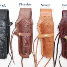 Hand Tooled Western Leather Holster Right Left Handed Free Shipping New Pistol