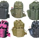 Nexpak Tactical Assault  Messenger Sling Bag  Hiking Day Pack  MOLLE Loops