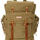 Large Army Style Military Style  Backpack KHAKI Rusksacks 704 Daypack School Bag