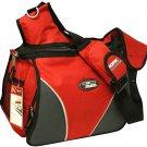 Large Messenger Sling Body Bag Backpack Binder Bag RED School Pack