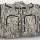 """ACU DIGITAL CAMO  Duffle Duffelbag Medium  22"""" Gym Bag Hunting Sport  New"""