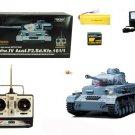 1/16 Scale PzKpfw.IV Ausf.F2.Sd.Kfz Battle Tank TA59 Gray RC Remote Control ARMY