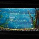 Large Plasma Wall Mount Fish Tank Aquarium Hanging Art