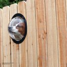 PetPeek Dog Port Hole Window For Your Fence PET PEEK  Look Out Porthole New