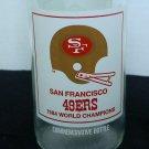 1984 San Francisco 49ers Super Bowl XIX Champions 7-11 Coca-Cola Bottle Empty