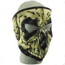 Skull  Neoprene Face Mask Ski Motorcycle Biker COLD !