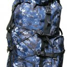 BLACK DIGITAL Extra Large Backpack Camping 4300 CI  Big Hiking  Pack Tactical