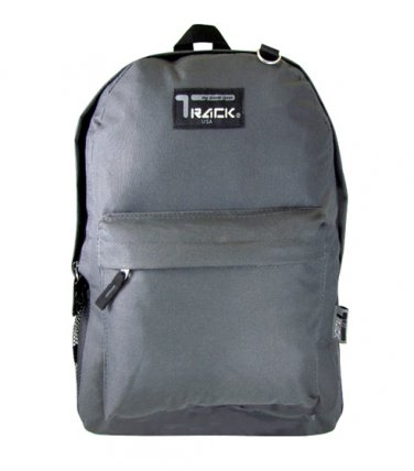 Charcoal Backpack School Pack Bag 205  Back Pack Free Shipping  Hike Camping NEW