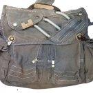 Canvas Messenger Sling Body Bag  Handbag Shoulder Distressed Old School Rucksack
