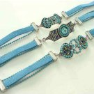 Turquoise Bracelets Lot Of 3 Assorted  Free Shipping Fashion Jewelery