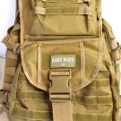 Large Backpack TAN Hunting Day Pack TACTICAL  Laptop Pocket Bag  Hiking Rucksack