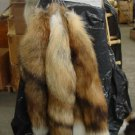 Canadian Red Fox Tail Natural Fur Key Chain Free Shipping Large Keychain Animal