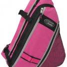 Messenger Sling Body Bag Backpack Pink School Shoulder Day Free Shipping New