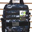 Laptop Backpack Rucksack Tactical Shoulder Messenger Bag NAVY ACU Molle Design