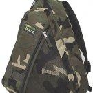 Messenger Sling Body Bag Backpack Camo Day Bag Shoulder Cross Body Hiking 303