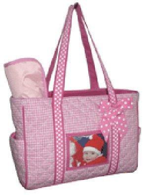 Brag Photo Purse Picture Tote Handbag Diaper Bag PINK