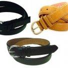 Men's Leather Dress Belt Famous Maker Look Alike