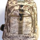 TAN DIGITAL Camo Tactical Gear Backpack Assault Bag Free Ship Daypack Hunting