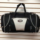 "Medium 22"" CHARCOAL DUFFELBAG  DUFFEL Gym BAG New Carry On Tote Sport Heavy Duty"