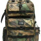 DEER CAMO  Backpack Big Hunting Day Pack DP321 Camping TACTICAL Tree Leaves