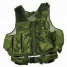 Camo Tactical Deluxe Vest Hunting Fishing Paintball Adjustable  Size NEW Outdoor