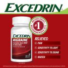 Excedrin Migraine 300 Coated Caplets Headache Pain Reliever Sealed Free Shipping