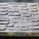 Modern Warplanes Eurographic 1000pc Sealed Military fightePlane Airplane Jet New