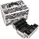 Nail Polish Case Zebra Pro Beauty Case  Beauty Makeup Train  Organizer Pro
