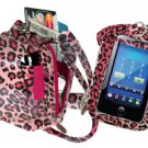 PURSE PLUS TOUCH CHARM14 CELL PHONE CASE Pink Leopard Touch-Screen Cheetah