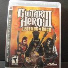 Guitar Hero III Legends of Rock PS3 Sony Playstation 3 ActiVision Free Shipping