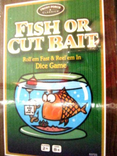 Fish or Cut Bait Card Game Front Porch Classics Family Card Dice New Sealed 8+