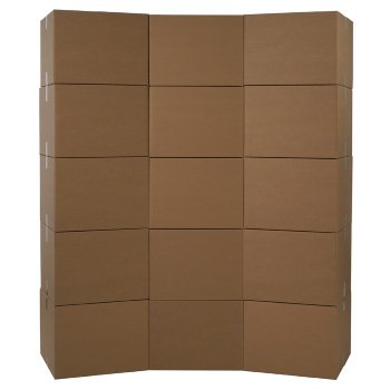 25 Cardboard Shipping Boxes 4 x 4 x 4 Cube Moving Brown Cube Square Packing New