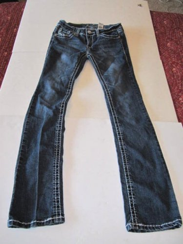 Cesttoi Jeans CT Size 7 Rhinestone Pockets Style 84325 Embroidery
