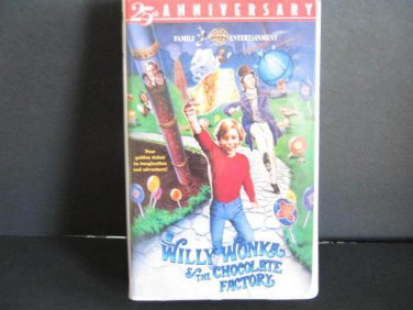 Willy Wonka and the Chocolate Factory (VHS, 1999, Remastered 25th Ann.)