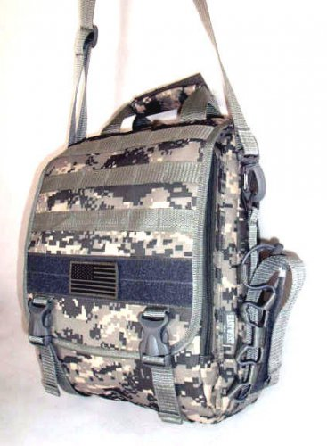 Laptop Backpack Rucksack Tactical Shoulder Messenger ACU DIGITAL Molle Design