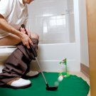 POT 'N PUTT TOILET GOLF GAME - 7PC PUTTER SET FOR POTTY BREAKS, GREAT GIFT IDEA!