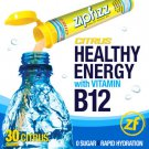 Zipfizz Citrus Healthy Energy Drink Mix 30 Tubes With B 12 No Sugar Hydrate
