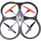 Big Size UFO Quadcopter with Gyro V262 Red 2.4Ghz 4ch Drone Remote Control RC