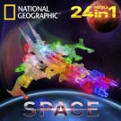 Laser Pegs 24 in 1 National Geographic SPACE Build 24 Lighted Models Blocks