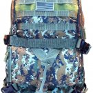 Tactical Convertible 3 in 1 Backpack Duffle Bag Messenger Green ACU  Pack Molly
